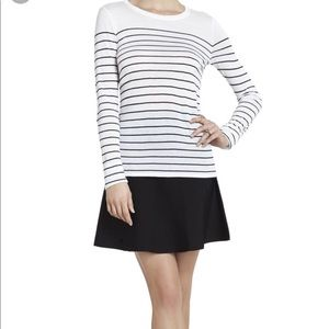 BCBG MaxAzria striped boatneck shirt